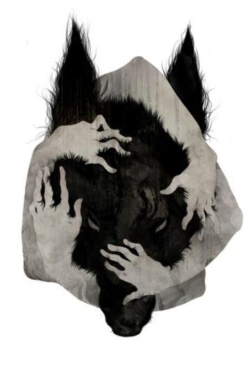 Oli Phillips #illustration #corinne #reid #dog
