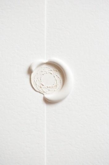 follow studio: sealed with love #seal #whiteonwhite #wax #white