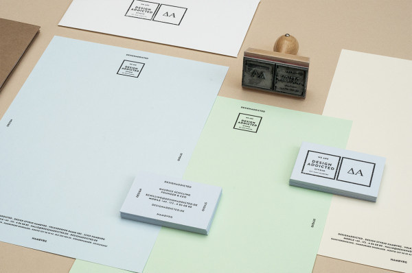 Designaddicted corporate design #stamp