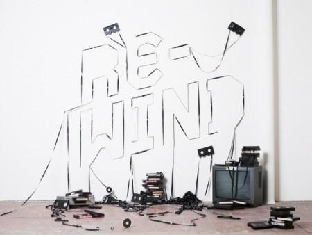 Bridging the Gap #videotape #vhs #tape #typography