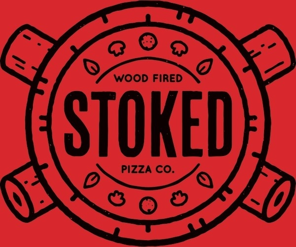 Stoked_final #logo #badge #stoked #pizza