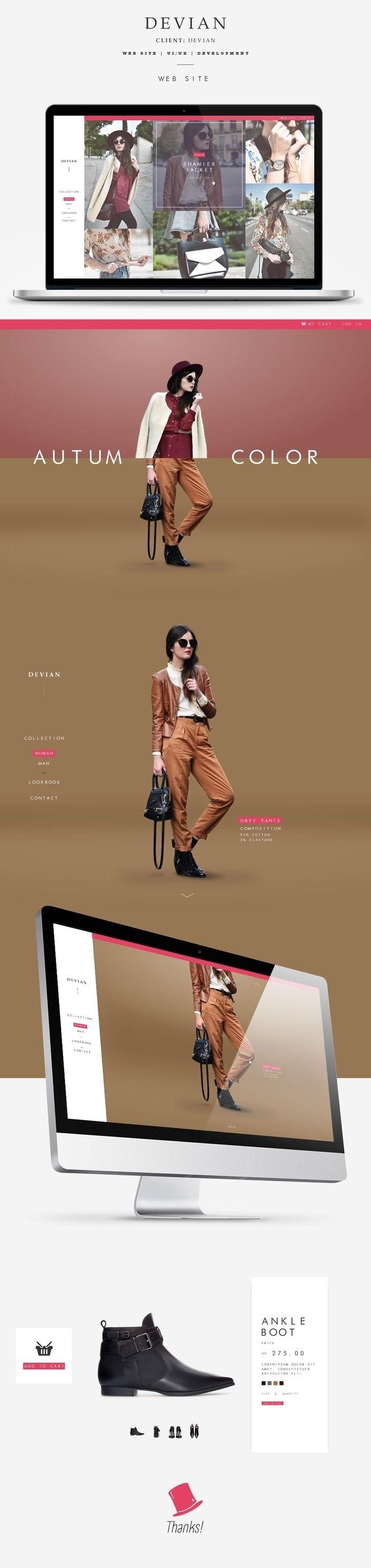devian – web design inspiration #inspiration #ux #design #ui #web