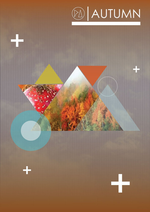 AUTUMN | POSTER #pi #design #autumn #poster #piedade