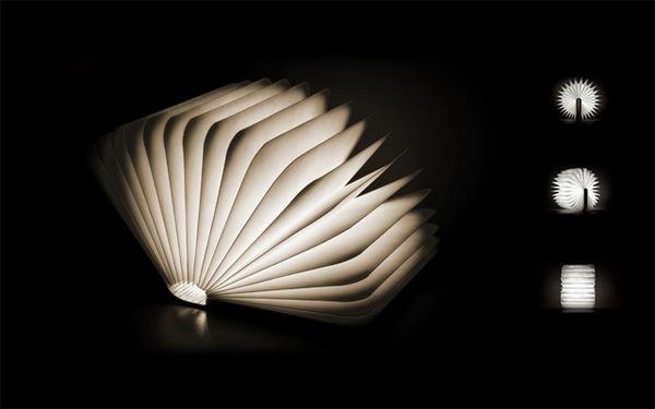 Lumio: A Portable Light that Folds like a Book #light #book