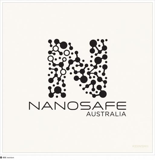 Nanosafe logo proposal #molecules #cross #resinism #nanotechnology #logo #science #southern
