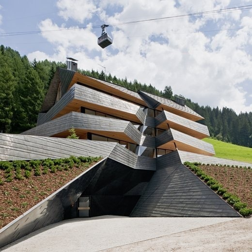 CJWHO ™ (Dolomitenblick by Plasma Studio The building is...) #design #landscape #photography #architecture #dolomites