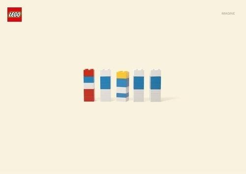 Lego imagine #smurfs #lego #minimalism