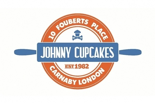 Johnny Cupcakes London Cartoon (Video) | The Daily Street #logo #stamp #vintage