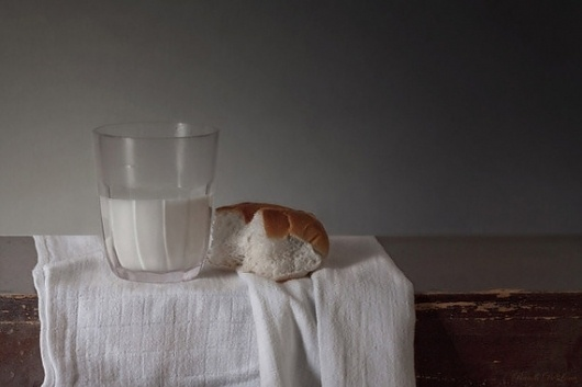 Stills on the Behance Network #classic #photography #milk #life #still #bread
