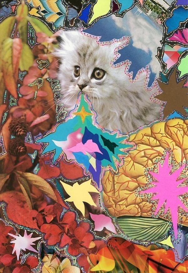 Hisham Akira Bharoocha | A R T N A U #bharoocha #akira #painting #hisham #collage