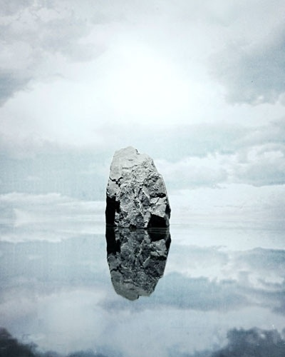Scissors #photo #rock #reflection