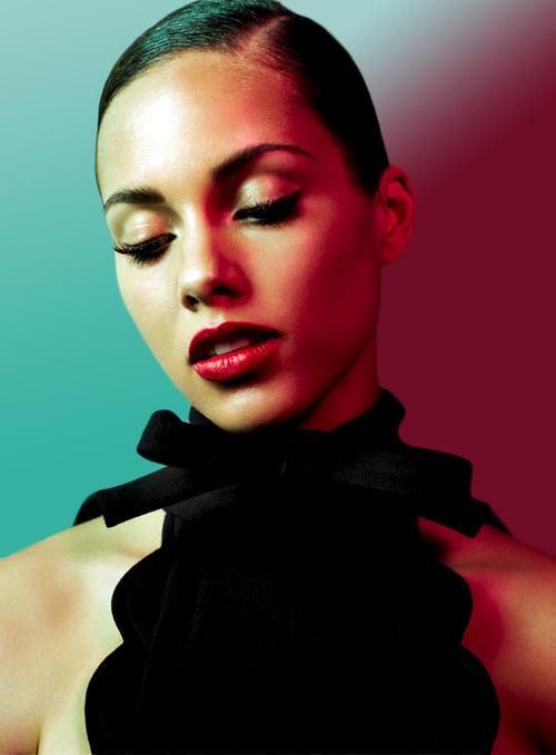 Photography(Alicia Keys for Vouge Italia) #alicia #photography #keys