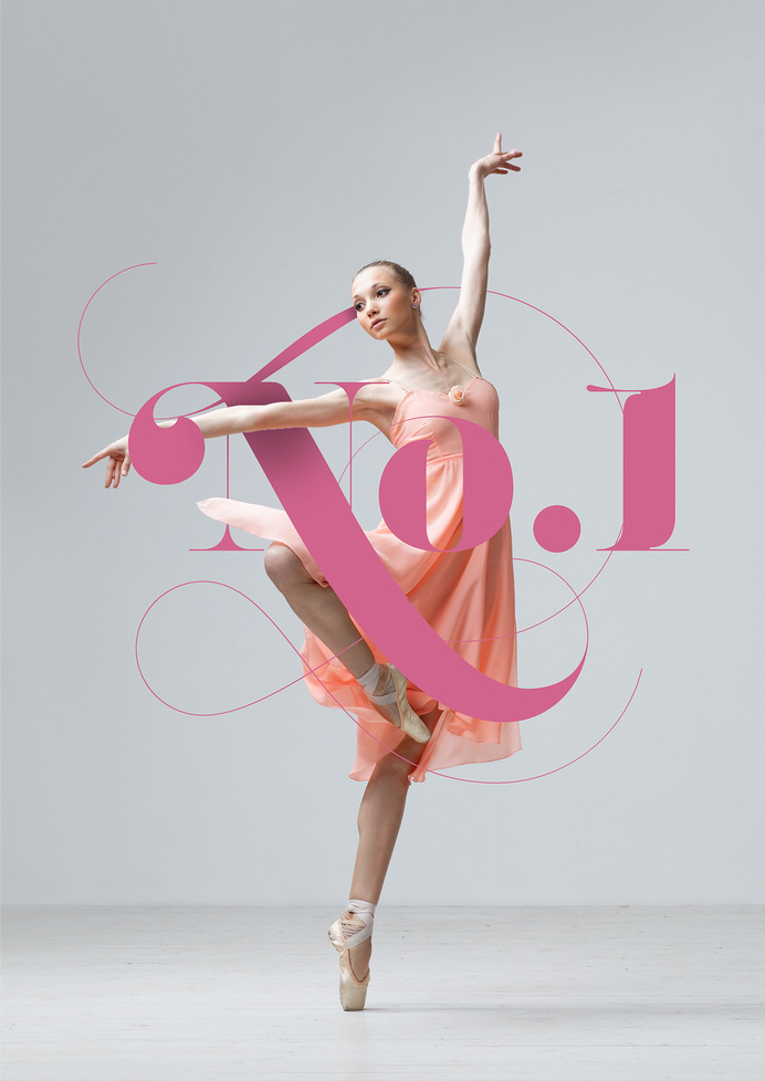 No.1 Dance Studio #logo #design #identity #branding