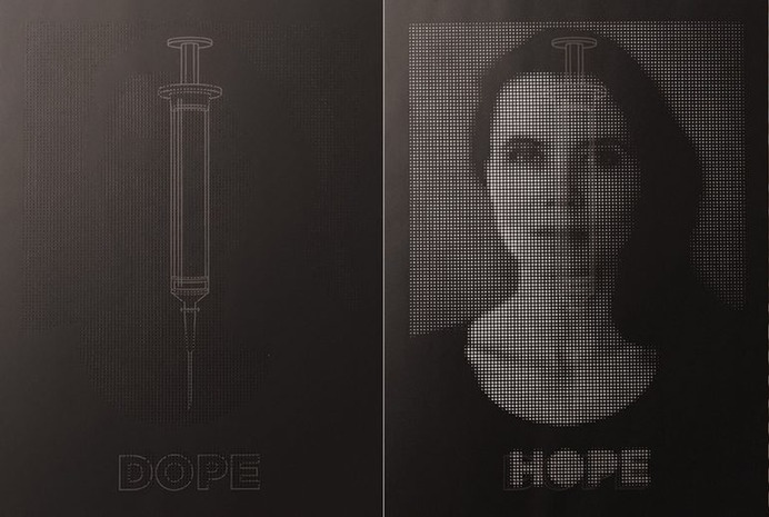 Inject Hope Poster Series