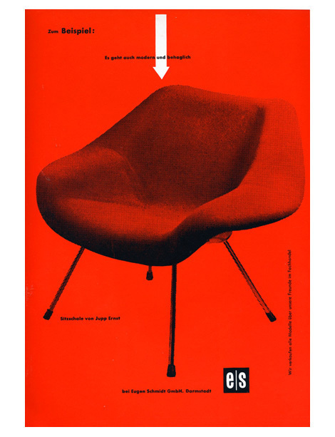 helmut lortz 1 #chairs #graphicdesign #jupp #furniture #posters #ernst