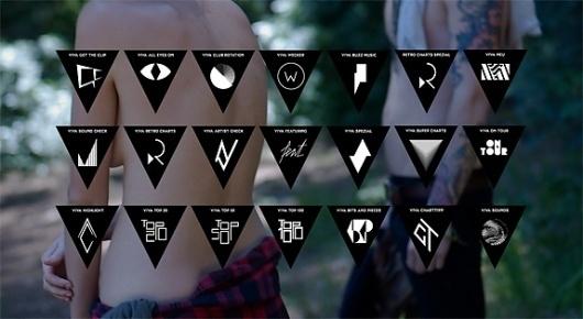 Viva gets Sharper - Brand New #geometry #icons
