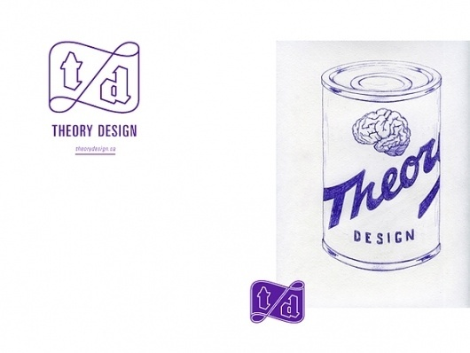 Theory design on the Behance Network #logo #identity