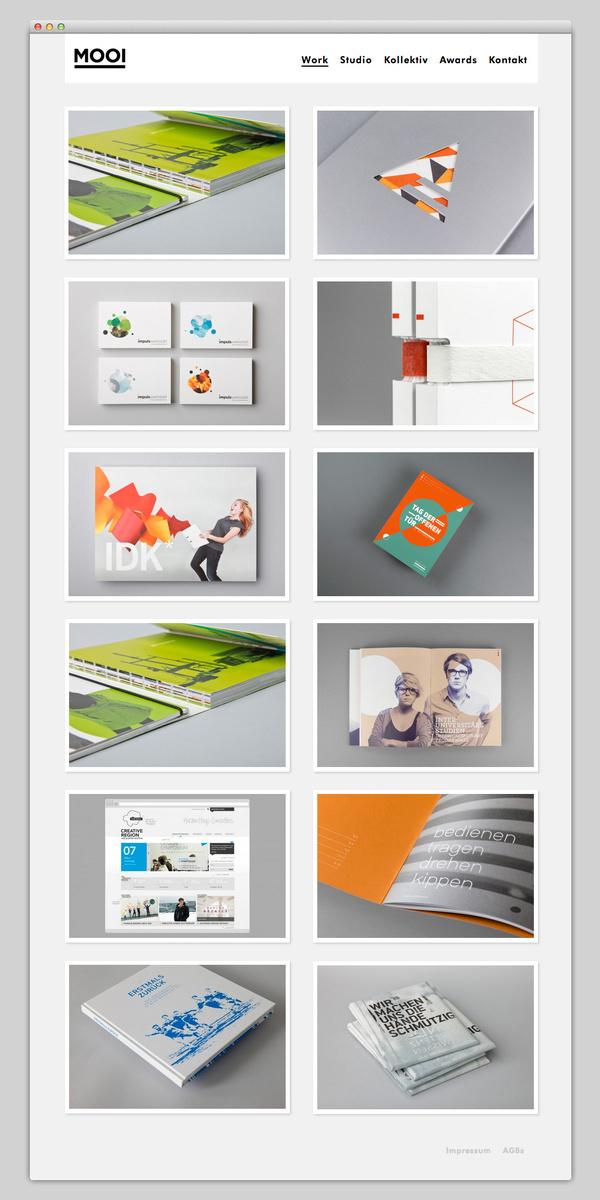 MOOI #website #layout #design #web
