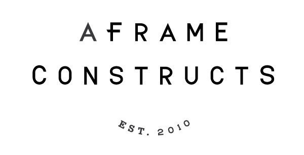 A Frame Constructs on Behance #logo