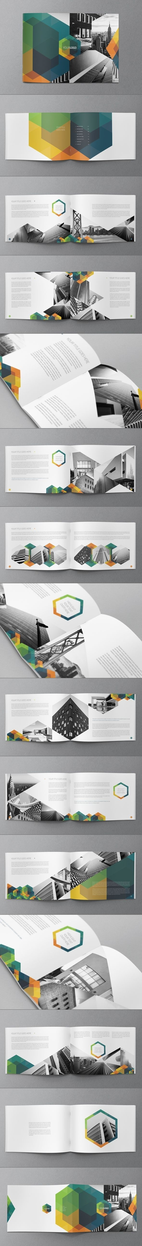 Hexo Brochure Design by Abra Design | Graphic Design #branding #print #design #graphic #brochure
