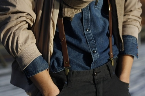 convoy #denim #man #suspender #style #cool