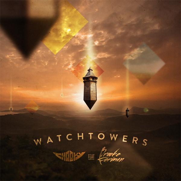 Watchtowers Album Art #music #album #design #art