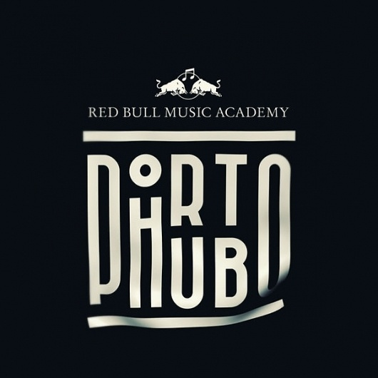 Red Bull Music Academy — Global Project on the Behance Network #type #lettering #logo #typography