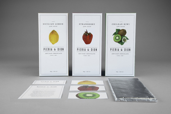 Pieria & Dion Packaging on Behance #packaging #design #package #chocolate