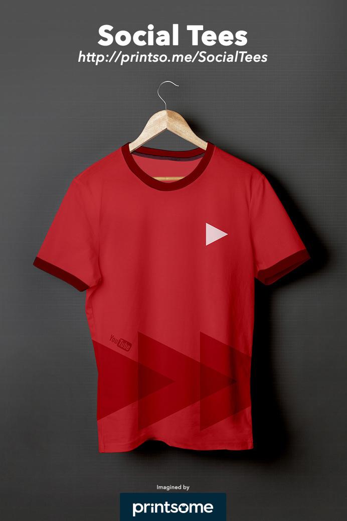 #Youtube #social #tshirt #clothing #design
