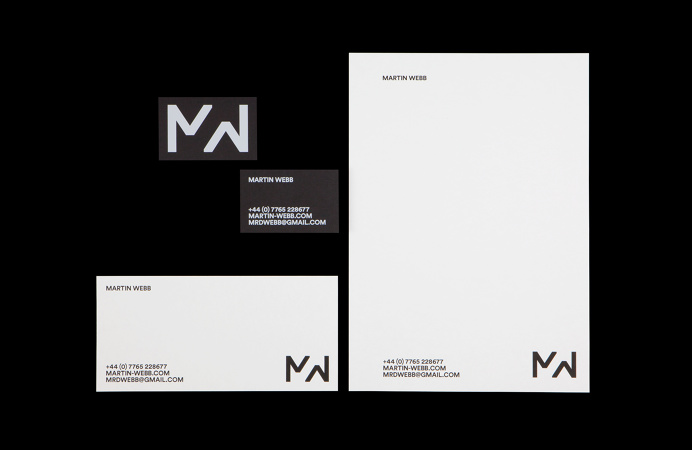 All Works Co. Graphic Design Studio London Martin Webb Identity Print Stationery