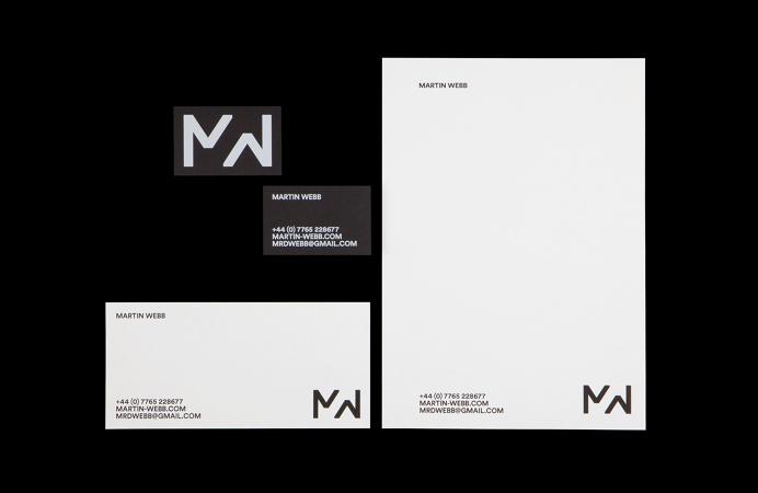 All Works Co. Graphic Design Studio London Martin Webb Identity Print Stationery
