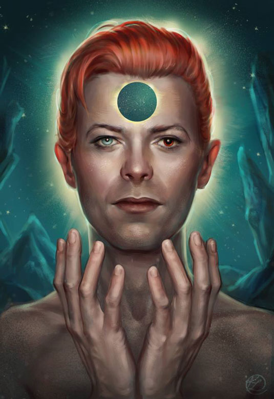 Bowie - Illustration - Kate Laird