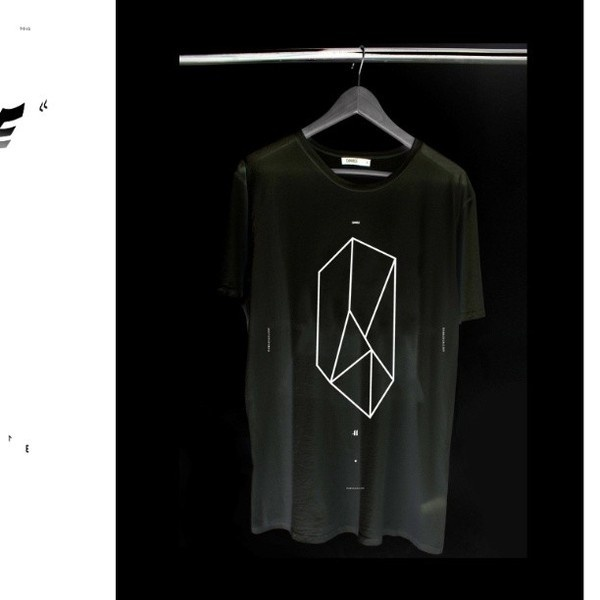 t shirt for SS/13 DamageGallery Summer Shadows Collection x #clothing #design #tshirt #black #shirt #la #art #usa