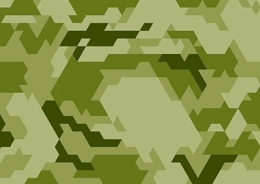 Ecopod | Identity Designed #camouflage #geometric