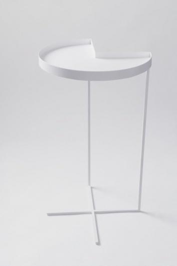 Mesa lateral Nook Esta mesa, intitulada Nook... #side #product #design #table