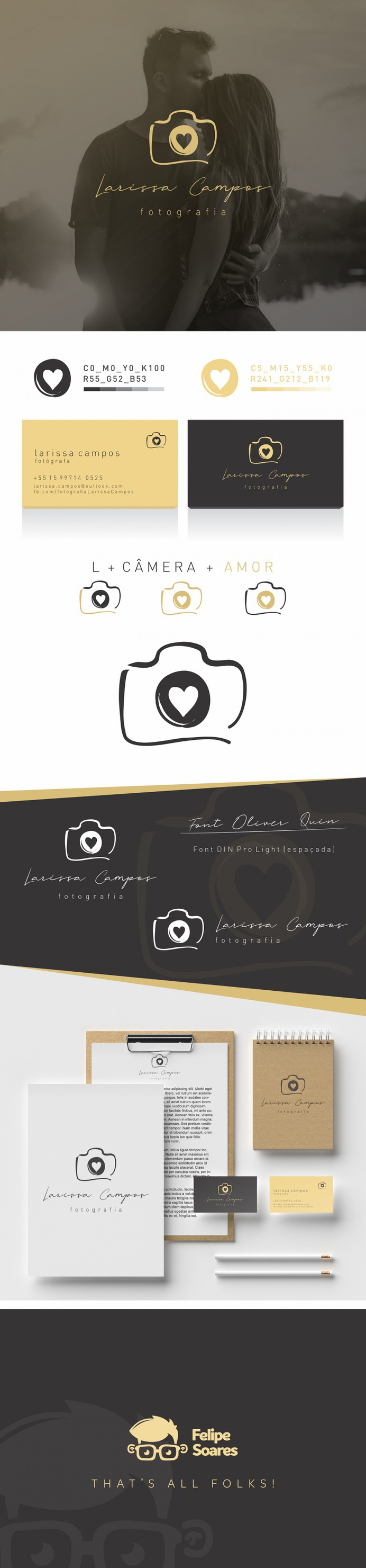 Logo Creation – Larissa Campos