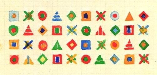 Gunta Stölzl - Bauhaus Master #fabric #process #geometric #concepts #sketch