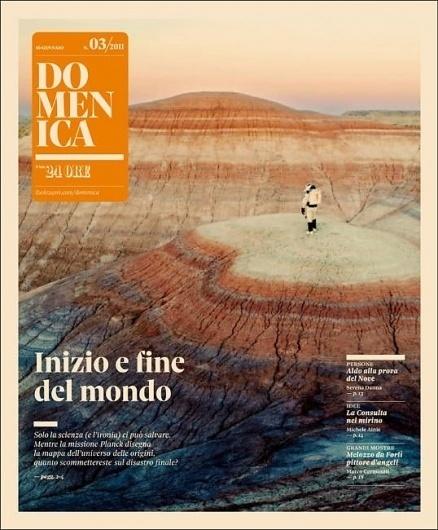 Domenica Space - Coverjunkie.com #cover #print #domenica #magazine