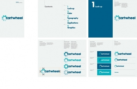 Cartwheel #branding #guide #guidelines #corporate #style
