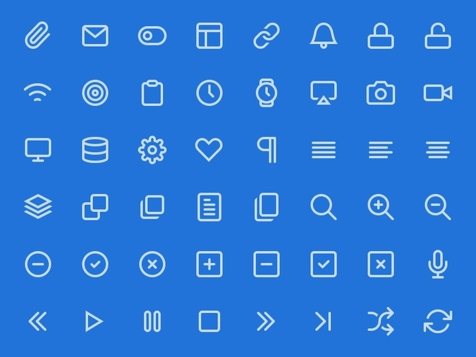 Feather : Free Beautiful and Simple Icon Set