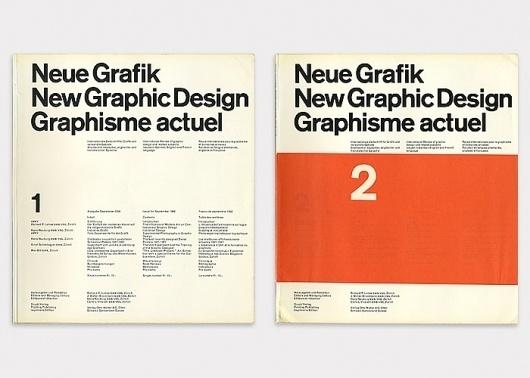 (Left) No.1 Design by Carlo Vivarelli (Right) No.2 Design by Hans Neuburg #cover #design #graphic