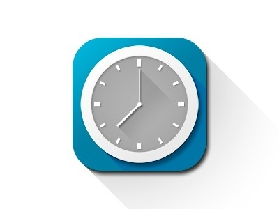Clock #icon #design #ui #app #clock