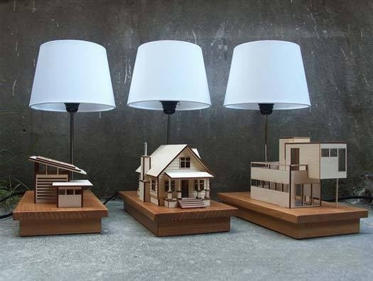 House Lamp by Lauren Daley #lamp #architecture #house