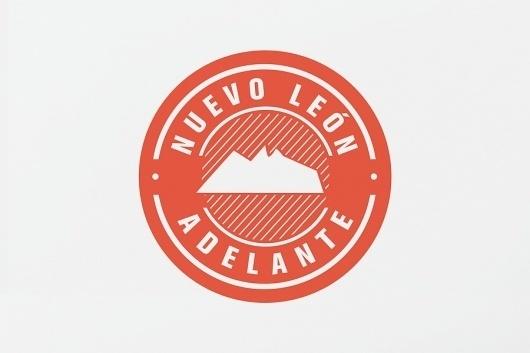 Turismo Nuevo León : Nuevo León Adelante - SAVVY #symbol #logo #identity #branding