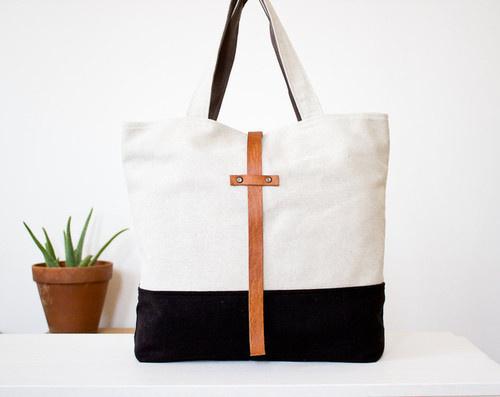Convoy #bag #white #black #shopper