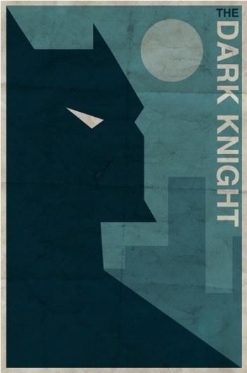 Vintage Style Comic Character Posters | Paper Crave #vintage #poster #batman