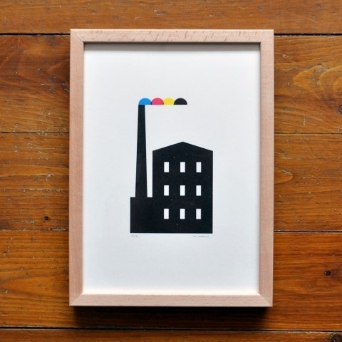 printfactory-large-480x480.jpg 480×480 pixels #burrows #print #screenprint #illustration #jez #poster #cmyk #factory