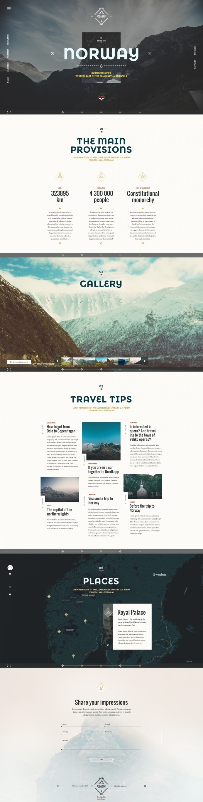 Norway Theme – Nature Travel