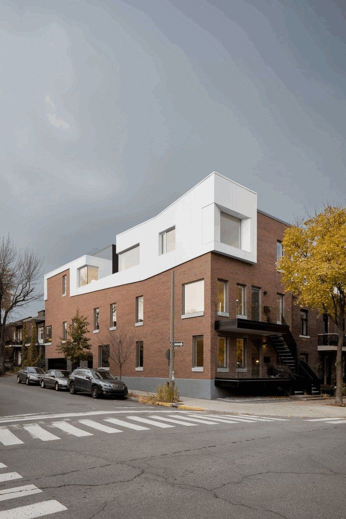 Dandurand Multi-Dwellings: Renovation and Extension of a 1920 Montreal Duplex
