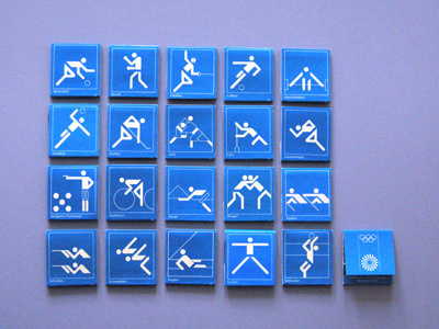 Creative Review 2012 Olympics pictograms launched #olympic #game #pictogram